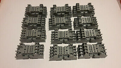 IDEC SY4S-05C Relay Socket, DIN Rail, Panel, Screw, 14 Pins (12 PIECES)