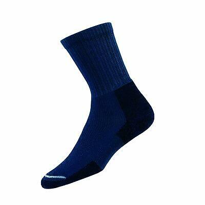 Thorlo KX Men's Thick Cushion Hiking Crew Socks Large - Dark Blue