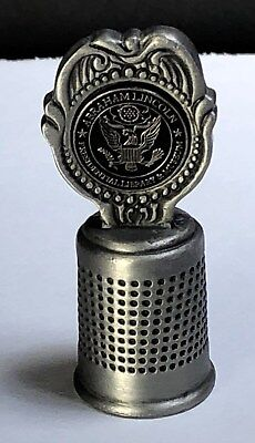 Abraham Lincoln Presidential Museum Pewter Thimble