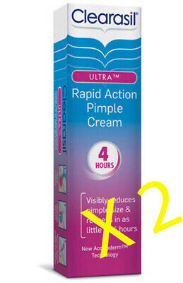 Clearasil Ultra Pimple Cream (4 Hr) Rapid Action - 15Ml