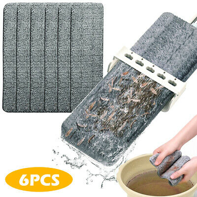 Spray Mop Replacement Pads Heads Microfiber Refill Wet Dry Cleaning Washable