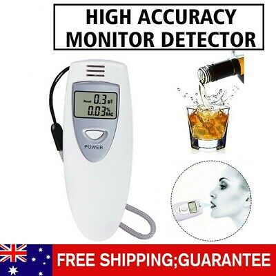 NEW Digital Breath Alcohol Tester MINI Portable LCD Analyzer Breathalyzer AUS
