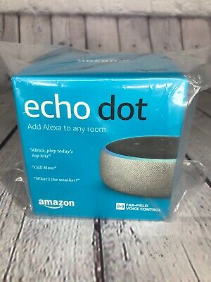 Amazon Echo Dot 3rd Gen with Alexa Latest 2019 Grey  NEW Free Shipping!