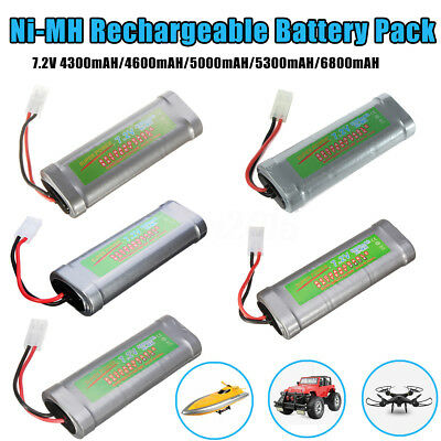 4300/4600/5000/5300/6800mAH 7.2V Ni-MH Battery Pack   Rechargeable For Toy  D
