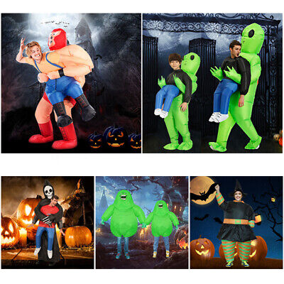 Inflatable Costume For Adult Children Party Cosplay Alien Monster Witch Scary