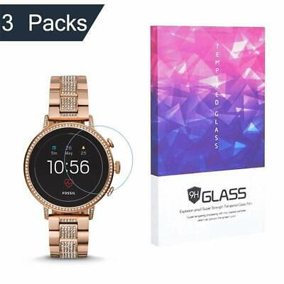 Fossil Q Venture HR Tempered Glass Screen Protector  9H Hardness
