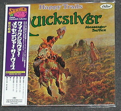 QUICKSILVER MESSENGER SERVICE Happy Trails JAPAN CD 2005 Mini-LP Sleeve MINT