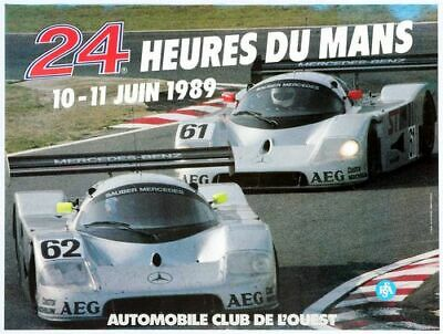 Vintage 1970 Le Mans 24 Hour Race Motor Racing Poster Print A3//A4