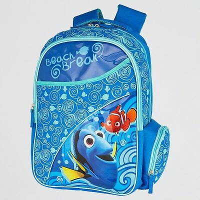 Finding Dory Beach Break Front Pocket adjustable back straps PVC Backpack-blue