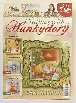 Crafting With Hunkydory Magazine Issue 24 July-Sept 2015 Pre-Owned