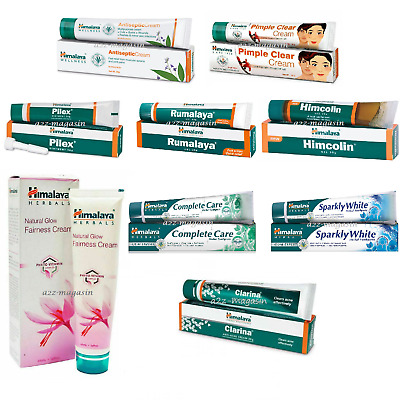 Himalaya Herbals Cream/Gel  Rumalaya,Pilex,Himcolin,Antiseptic,Pimple Cream etc