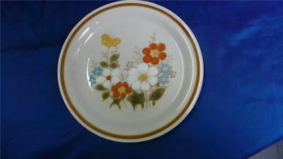 Floral Stoneware Collector Plate Highland Blue Highland Florals Collection Japan