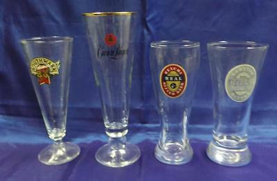 Collectable Beer Glasses X 4