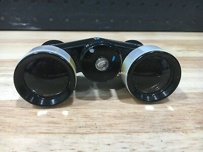 Opera Glasses Carton 3X Coated Adjustable Mother Of Pearl Inlay