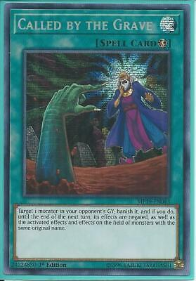 Yugioh MP19-EN043 Called by the Grave Prismatic Secret Rare NM 1st Edition