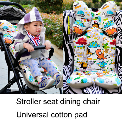 Baby Stroller Pad Seat Warm Cushion Pillow Cover Child Carriage Cart Thicken Pad
