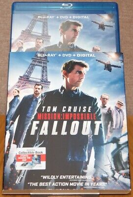 Mission Impossible: Fallout - Region Free Blu Ray, Slipcover - Better than UK!