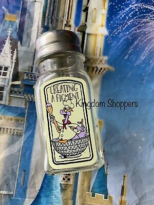 Disney Epcot Food & Wine Festival 2019 CREATING A FIGMENT Shaker SALT PEPPER