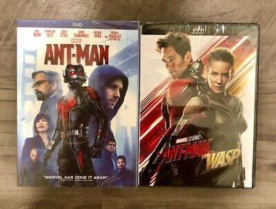 Ant-Man and Ant-Man and the Wasp 2 DVD Marvel Bundle Brand New Free Shipping