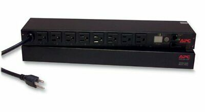 APC Rack Mount 8 Outlet Server PDU Power Distribution Unit (120 Volt) B+
