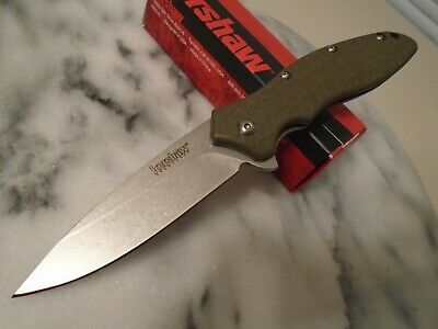 """Kershaw OSO Sweet Assisted Open Tactical Pocket Knife 1830ODSW 8Cr13MoV 7.2"""" Op"""