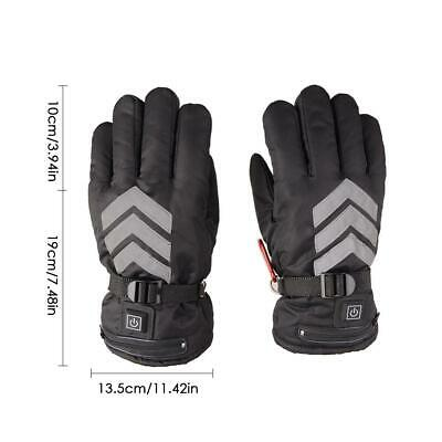 Three-speed Thermostat Electric Heating Reflective Duty Gloves Motorcycle Electr