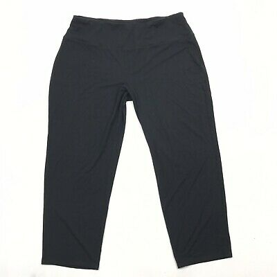 J Jill Pants Size Large Womens Black Smooth Fit Pull On Wearever Collection