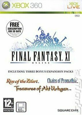 Final Fantasy XI Online (Xbox 360) PEGI 12+ Adventure: Role Playing Great Value