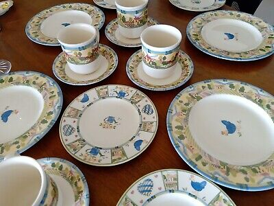 Johnson  Brothers Meadow Brook 16 Piece Set 4 Place Setting Never Used