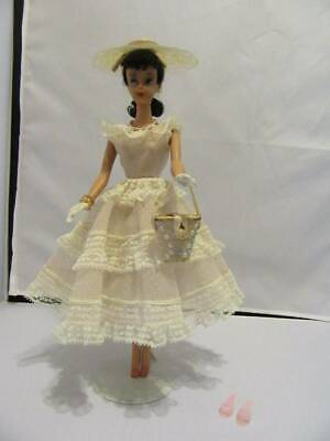 Vintage Barbie Doll Outfit Plantation Belle #966 from 1962 Complete -no earrings