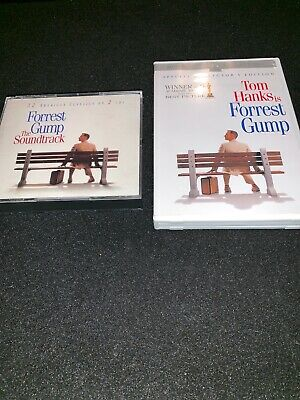 FORREST GUMP • The Soundtrack 2 CD Set | Special Collector's Edition 2 DVD Set
