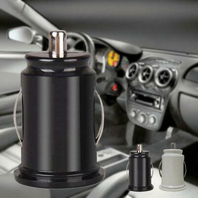 Universal Twin Dual Double Port 2 USB 12V In Car Socket Light Charger Adapter BR