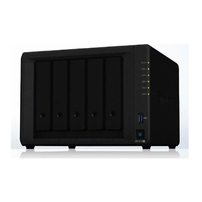 Synology Diskstation 5 Bay 3 Inch Diskless Nas Intel Atom Quad Core