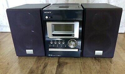 Sony CMT-M333NT (HCD-M333) CD, Cassette Tape, MiniDisc, USB, Optical, Radio, Aux