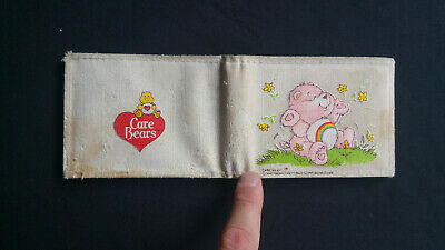 Vintage 1983 Care Bears Wallet