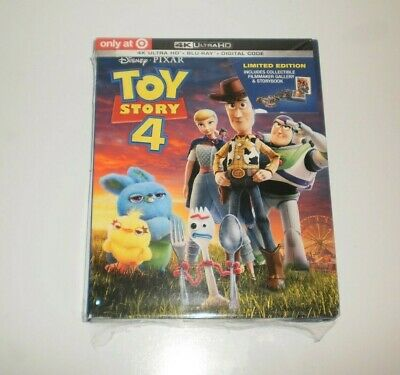 Toy Story 4 (Target Exclusive) Limited Edition (4K UHD & Blu-Ray)