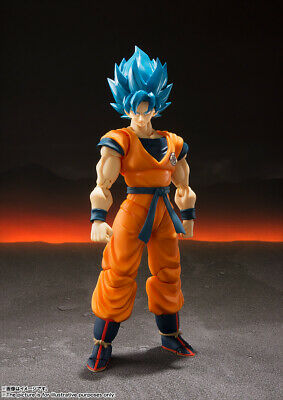 Bandai S.H.Figuarts Broly Movie Super Saiyan God Super Saiyan Goku -JAPAN- NEW