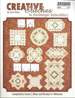 VGUC creative stitches in hardanger embroidery Carol Slieter PB instructional