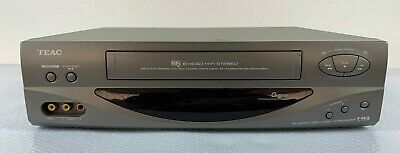 TEAC VCR MV-6080G Video Cassette Recorder VHS Player   No REMOTE   Tested Works!
