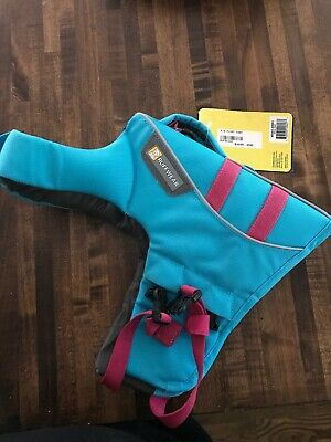 Ruffwear Float Coat Life Jacket For Dogs, Blue Atoll Size EXTRA SMALL