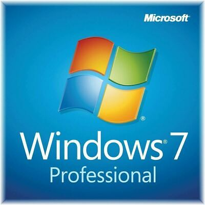 Microsoft Windows 7 Pro Professional 32/64bit ESD Licence Key Activation Code