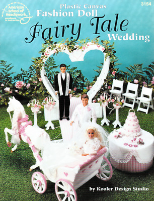 Fairy Tale Wedding Barbie Carriage Cake Sweetheart Arch Candelabra Celebrate OOP