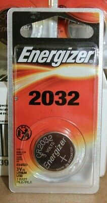Energizer CR2032 Lithium Coin Battery 3V Exp 03/2025 (2x 6/packs + 5 = 17)