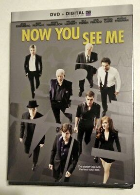 Now You See Me (DVD, 2013, Includes Slipcover) New
