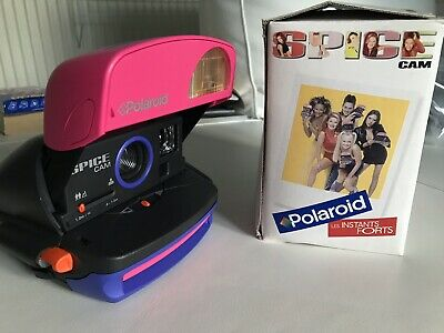 Polaroid Spice Girls Spice Cam Instant Camera - boxed and complete