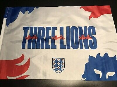 England Vs Bulgaria Euro 2020 Qualifier Souvenir Flag 07/09/19