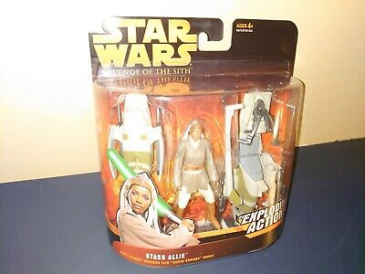 Hasbro - Star Wars: Episode III, Revenge of the Sith, STASS ALLIE w/Barc Speeder