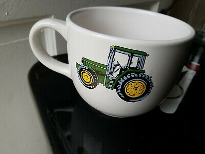John Deere Jumbo Gibson Coffee Mug Nothing Runs Like a Deere Soup Chili XL Cup