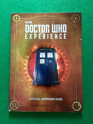 Doctor Who Experience Cardiff - OFFICIAL COMPANION GUIDE BOOK