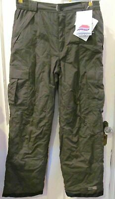 PULSE HARKK1 Snow Ski Pants Insulated Technical NWT Mens Med Olive Green 20125-3